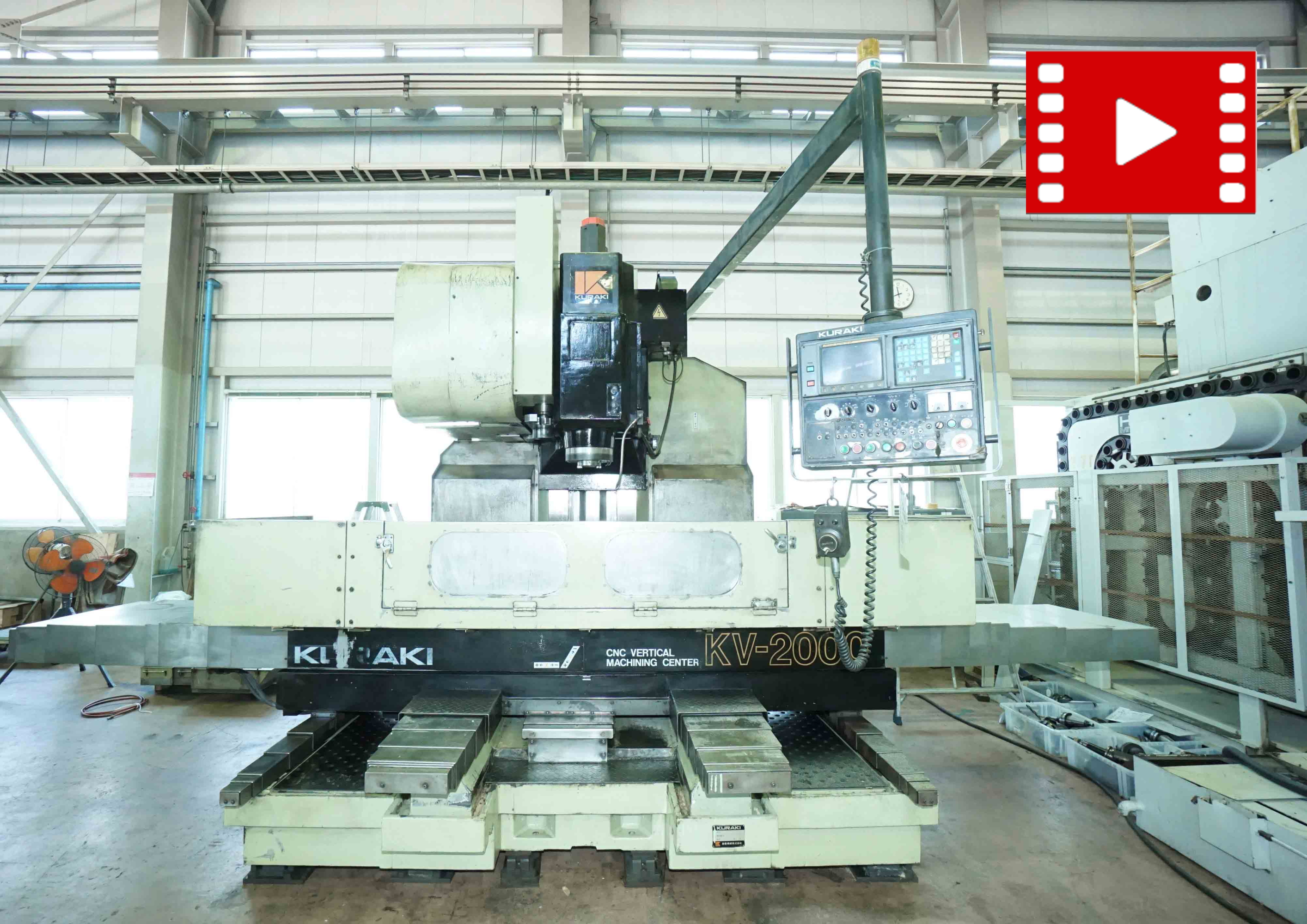 Vertical Machining-center KURAKI KV-2000の画像