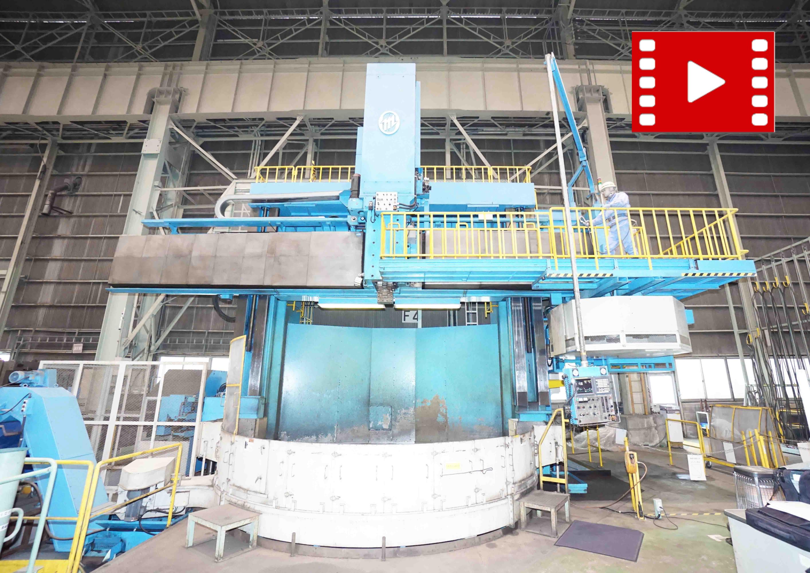 CNC Vertical Turning-center OM TMD-40/45Mの画像
