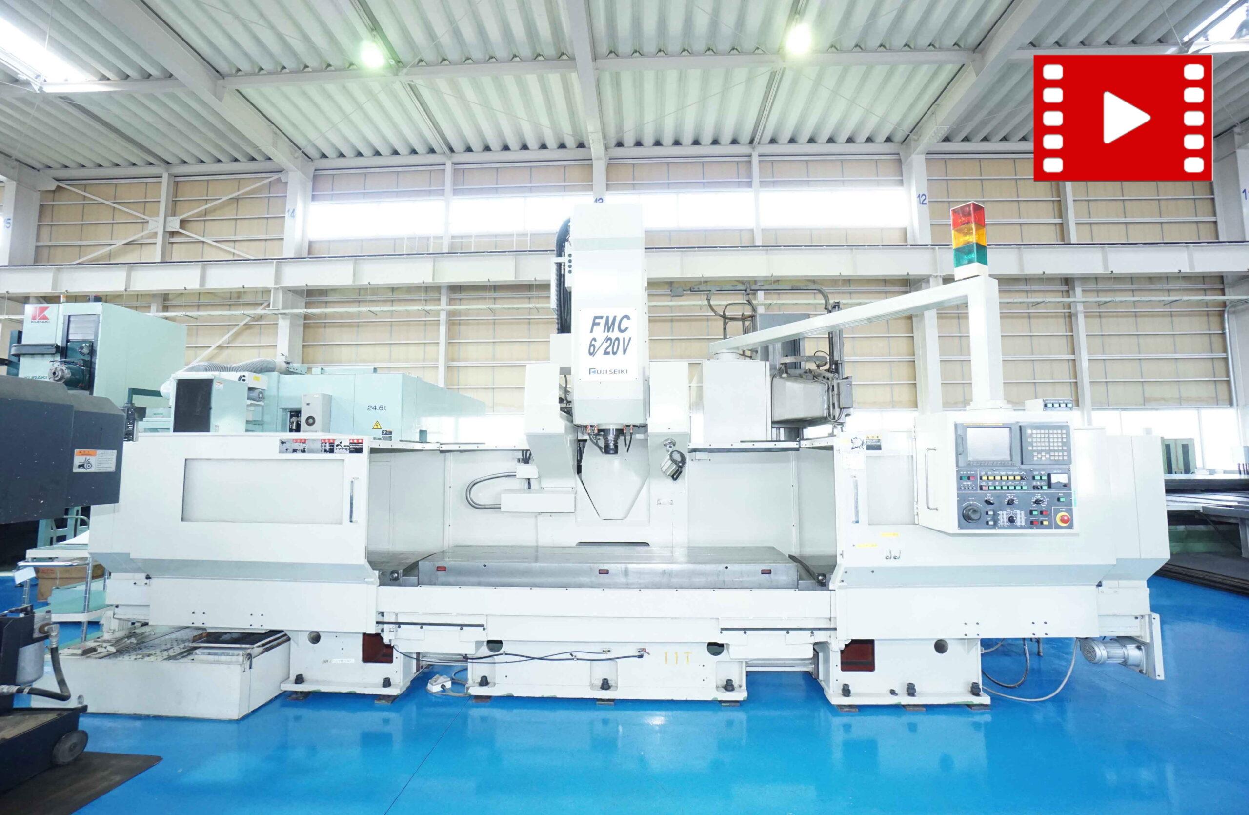 Long Vertical Machining-center FUJI SEIKI FMC-6/20Vの画像