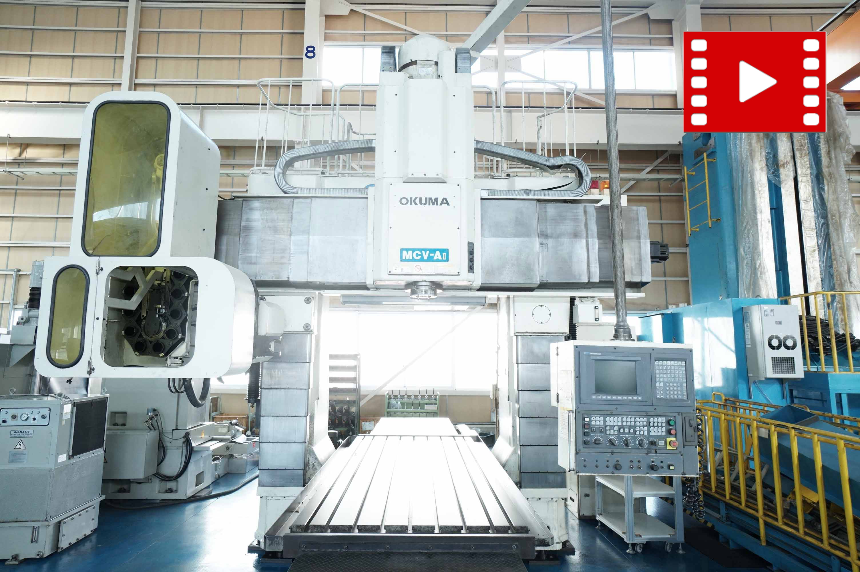 Double column Machining-center OKUMA MCV-AⅡ 16×30の画像