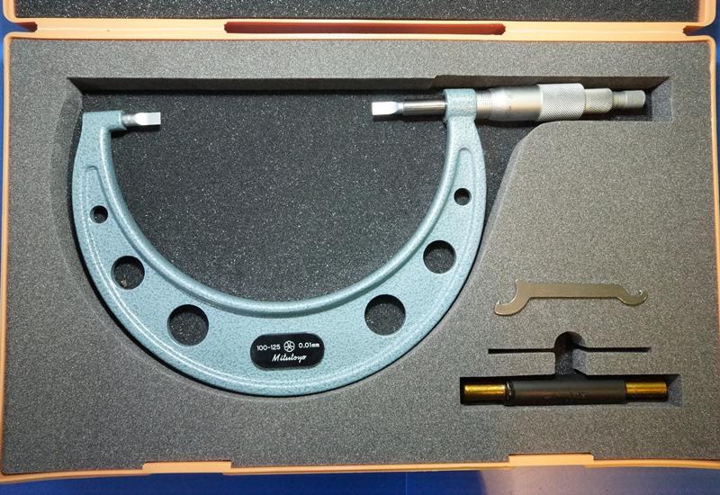 BLADE MICROMETER MITUTOYO BLM-125の画像