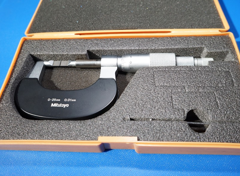 BLADE MICROMETER MITUTOYO BLM-25Wの画像