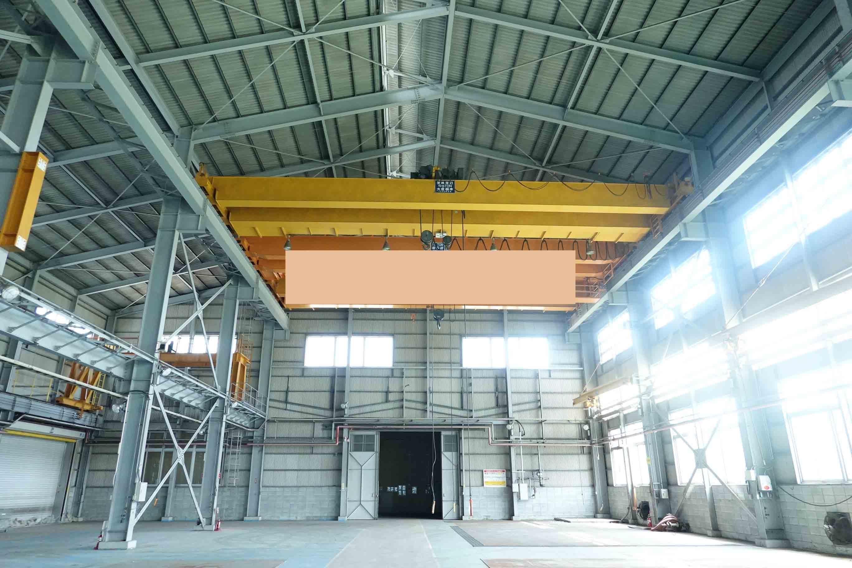 Double Hoist Crane HITACHI 10/5 Ton (940906KIY-3)の画像