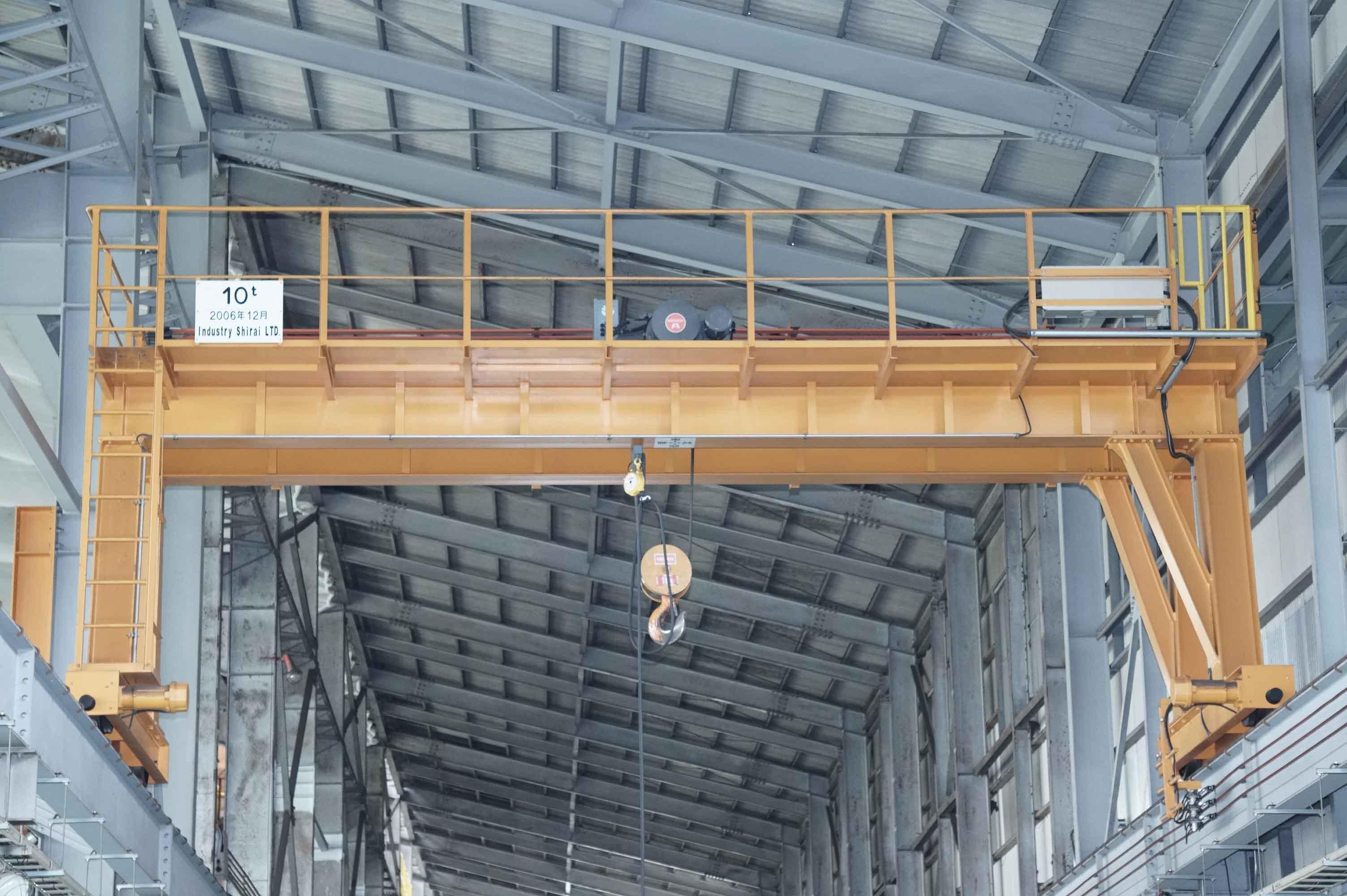 橋型クレーン 明電 10t (940906KIY-6)の画像