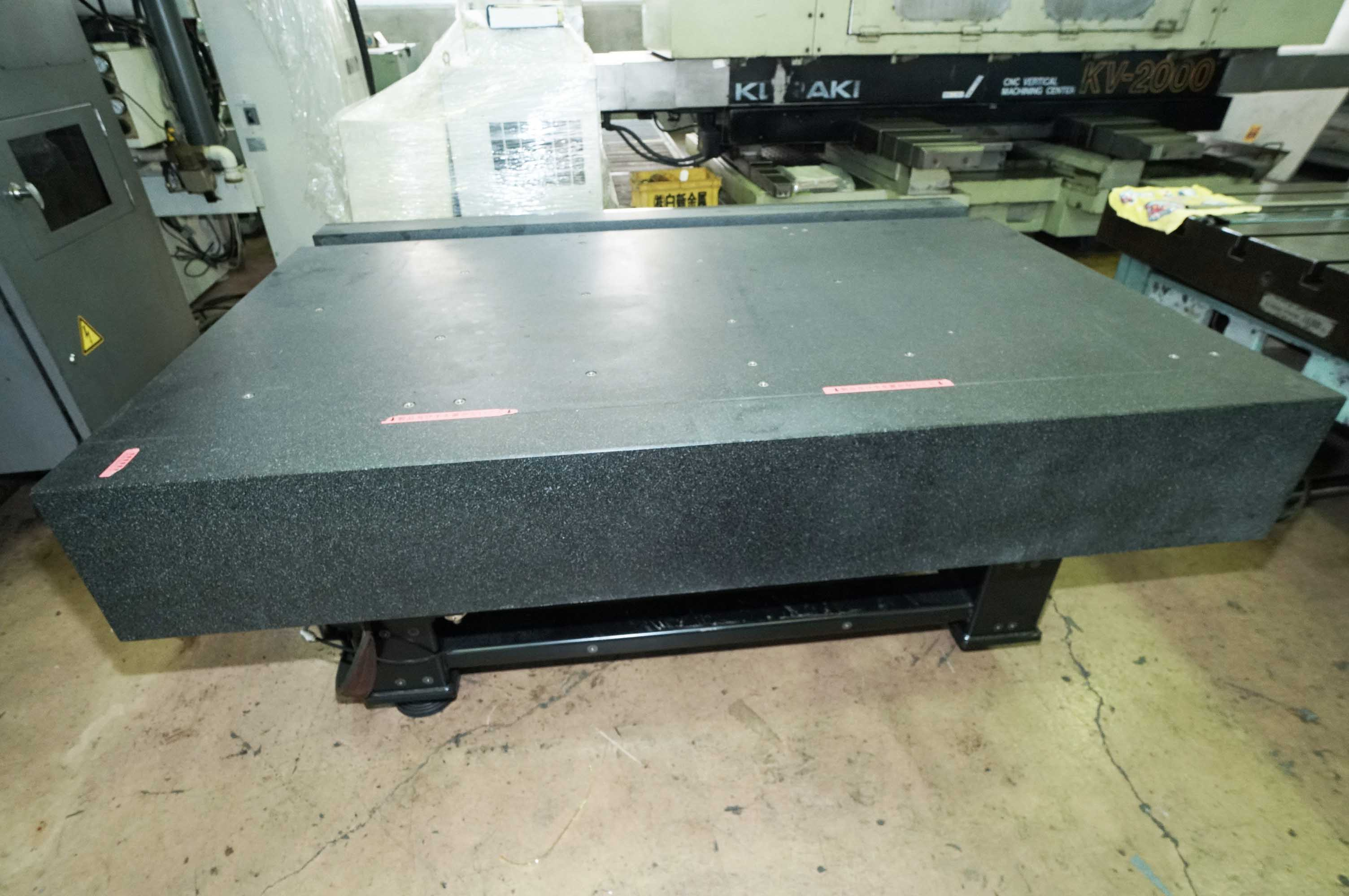 Stone Surface Plate MITUTOYO Crysta-Apex C7106の画像