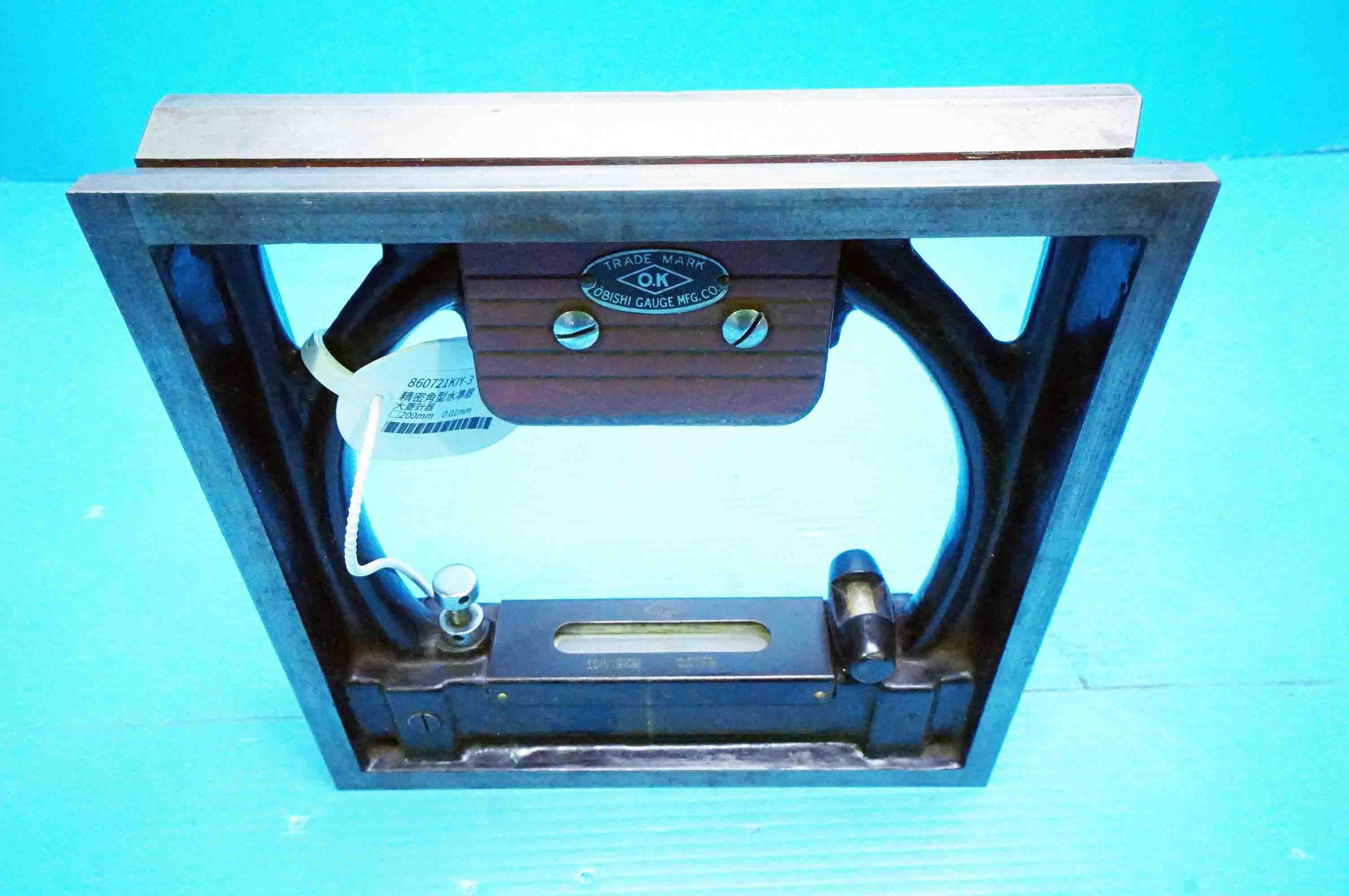 精密角型水準器 大菱計器 (860721KIY-3)の画像