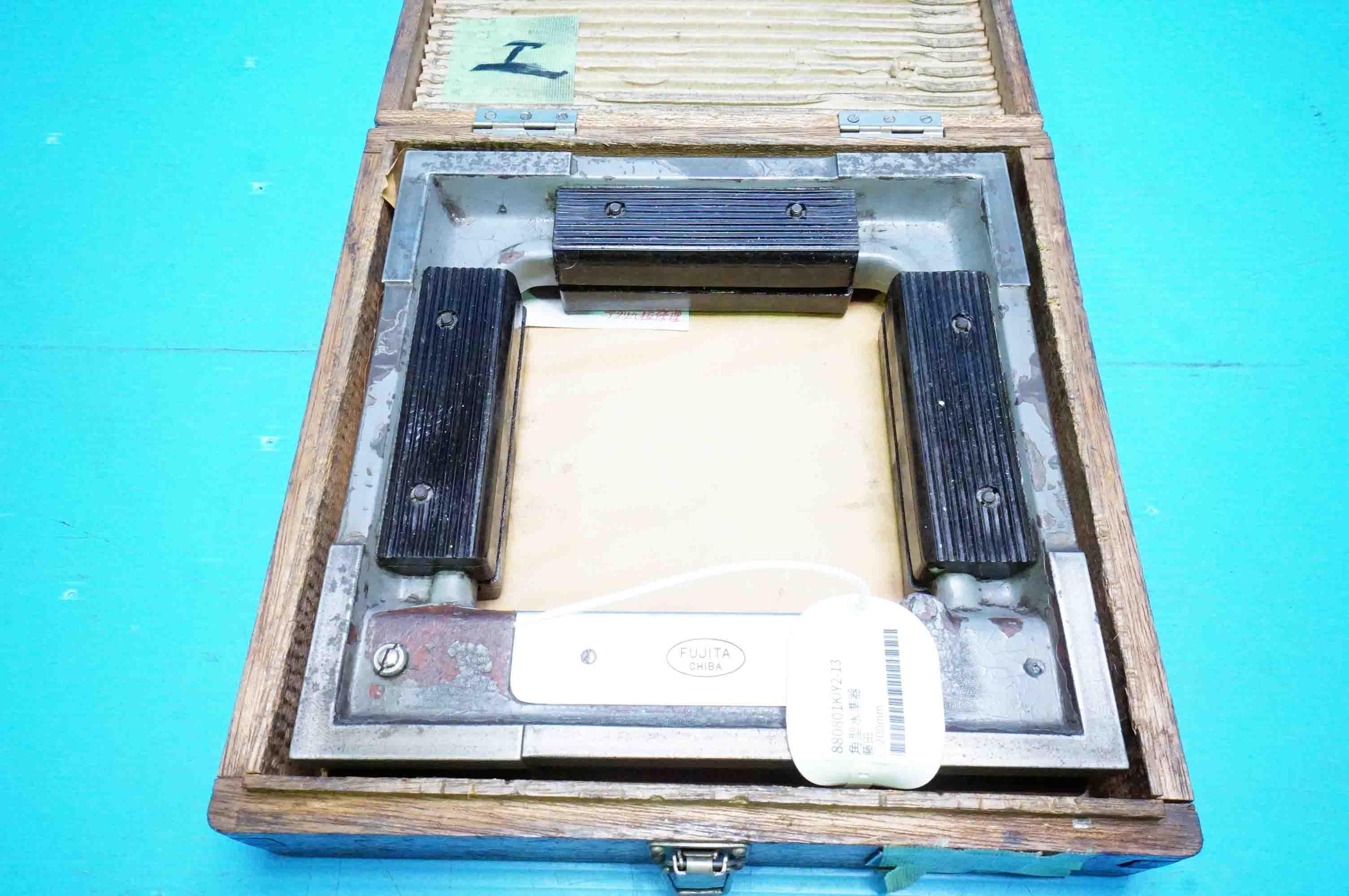 角型水準器 藤田 (880801KIY2-13)の画像