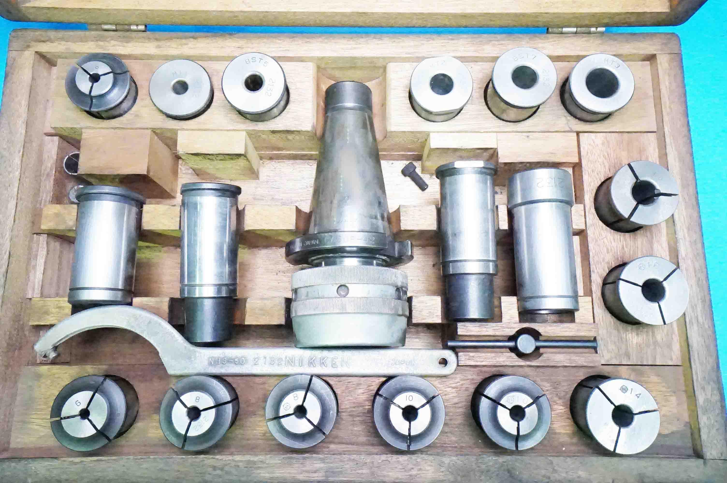 ミーリングチャック NT50セット  NIKKEN CA-50F (930604-EIJ-14)の画像