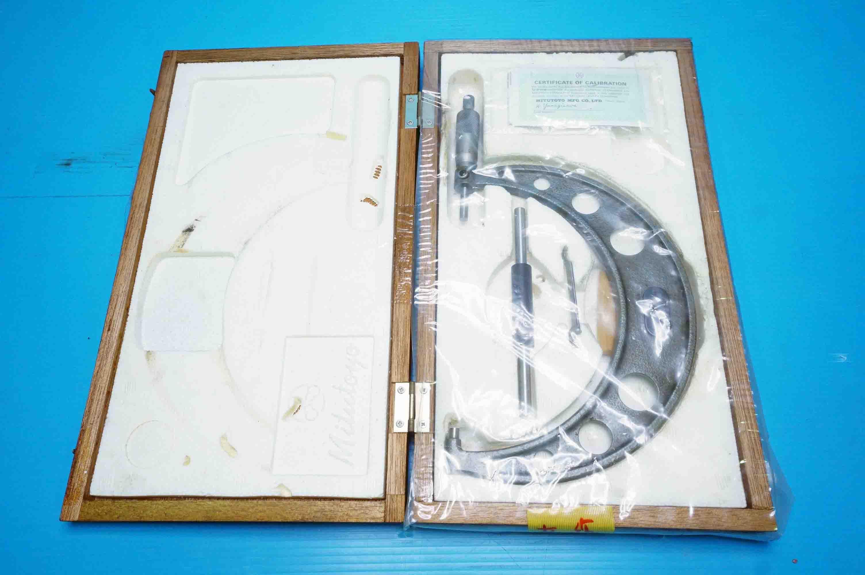 マイクロメータ ミツトヨ OM-175(940405287)の画像