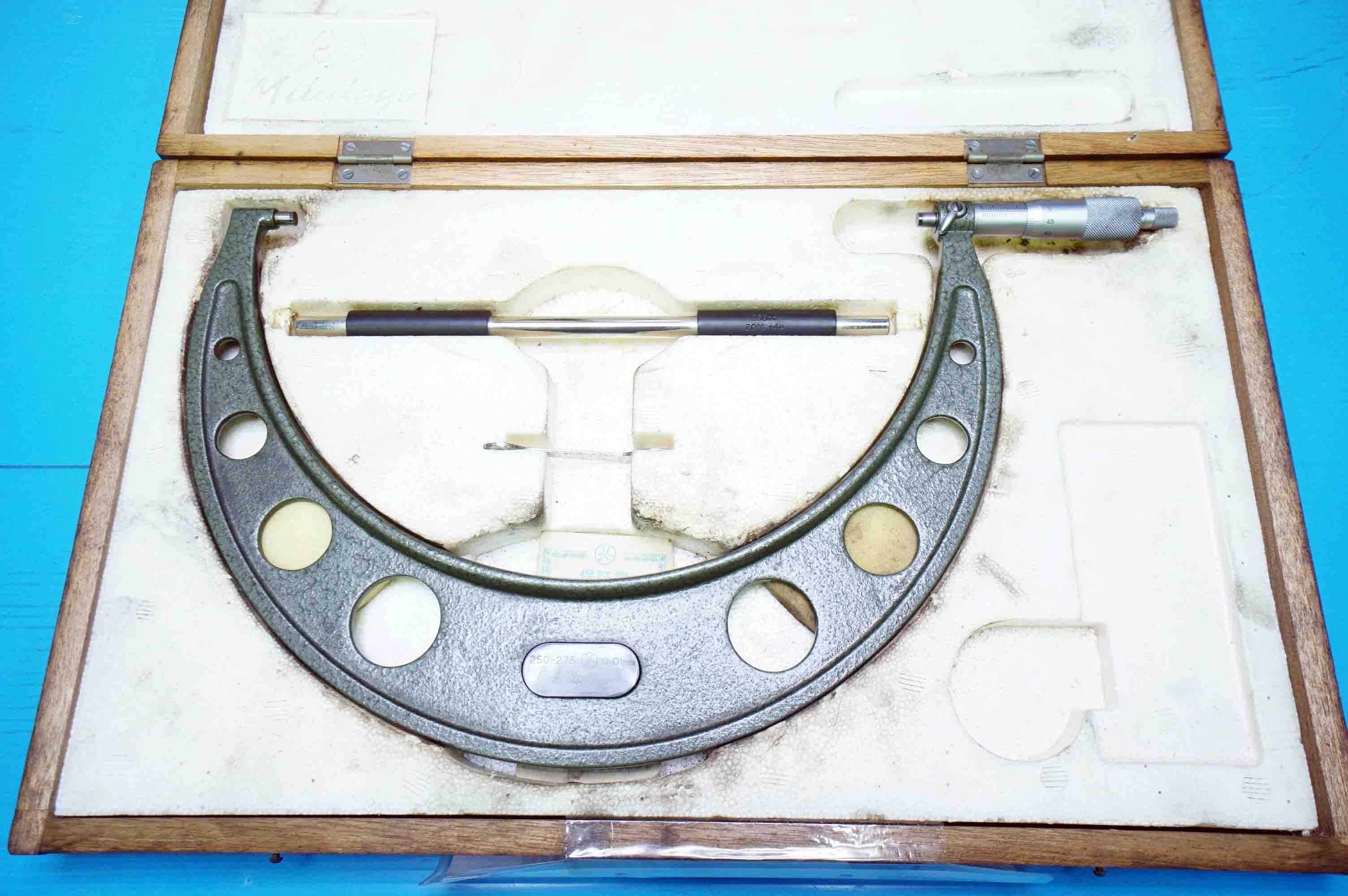 マイクロメータ ミツトヨ OM-275(940911ASK-63)の画像
