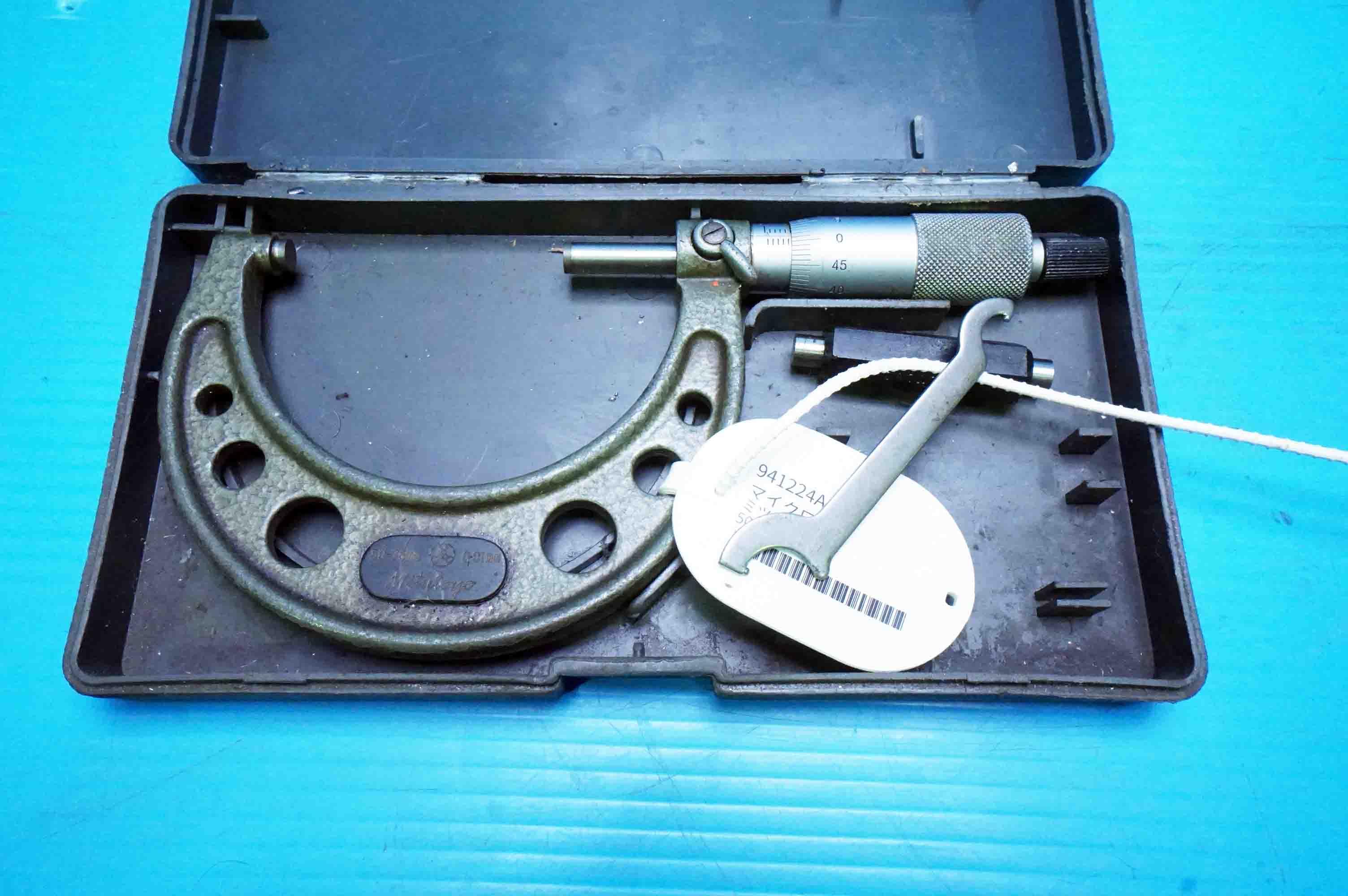 マイクロメータ ミツトヨ OM-75(941224ASK-7)の画像