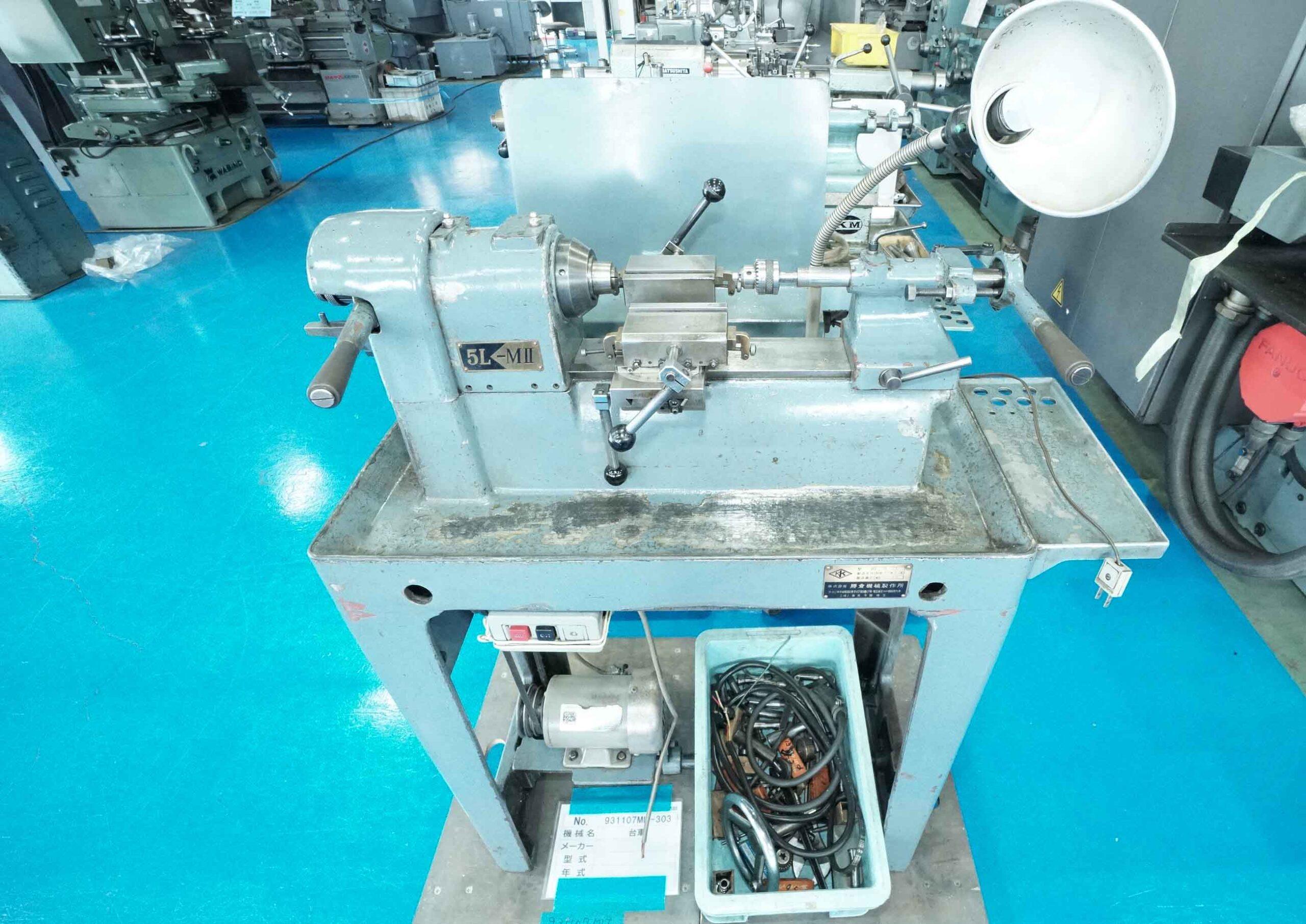 ベンチレース 勝倉機械製作所 5L-MⅡの画像