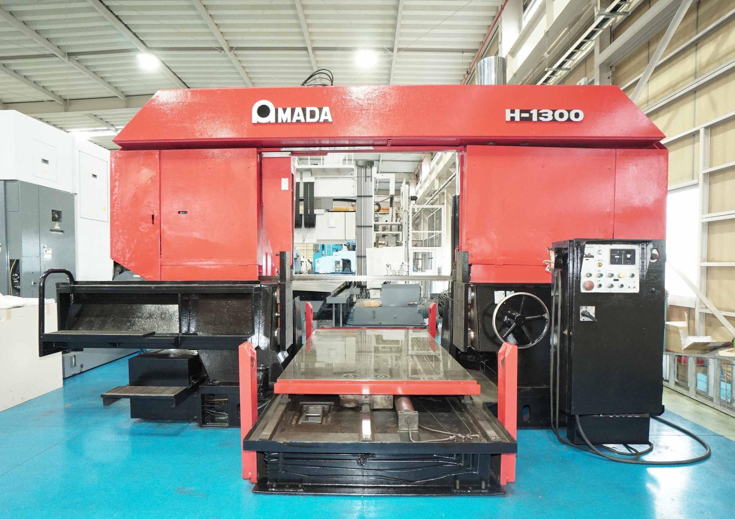 バンドソー アマダ H-1300の画像