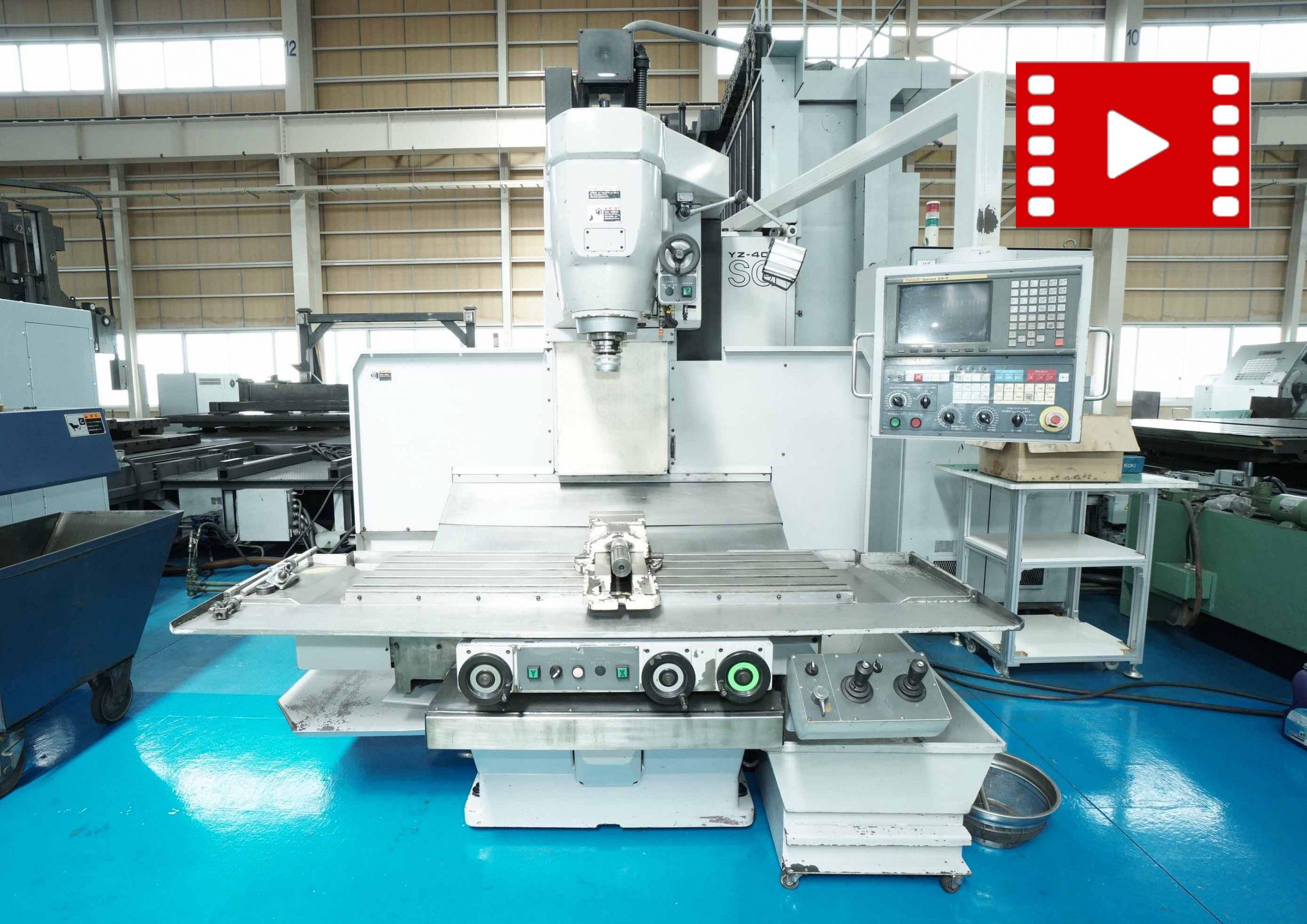CNC立フライス盤 山崎技研 YZ-400SGの画像