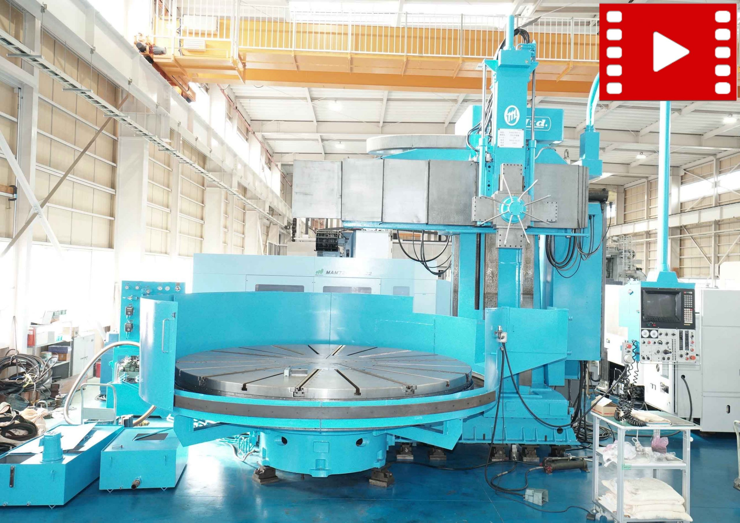 CNC Vertical Turning-center OM TMS2-32/37の画像