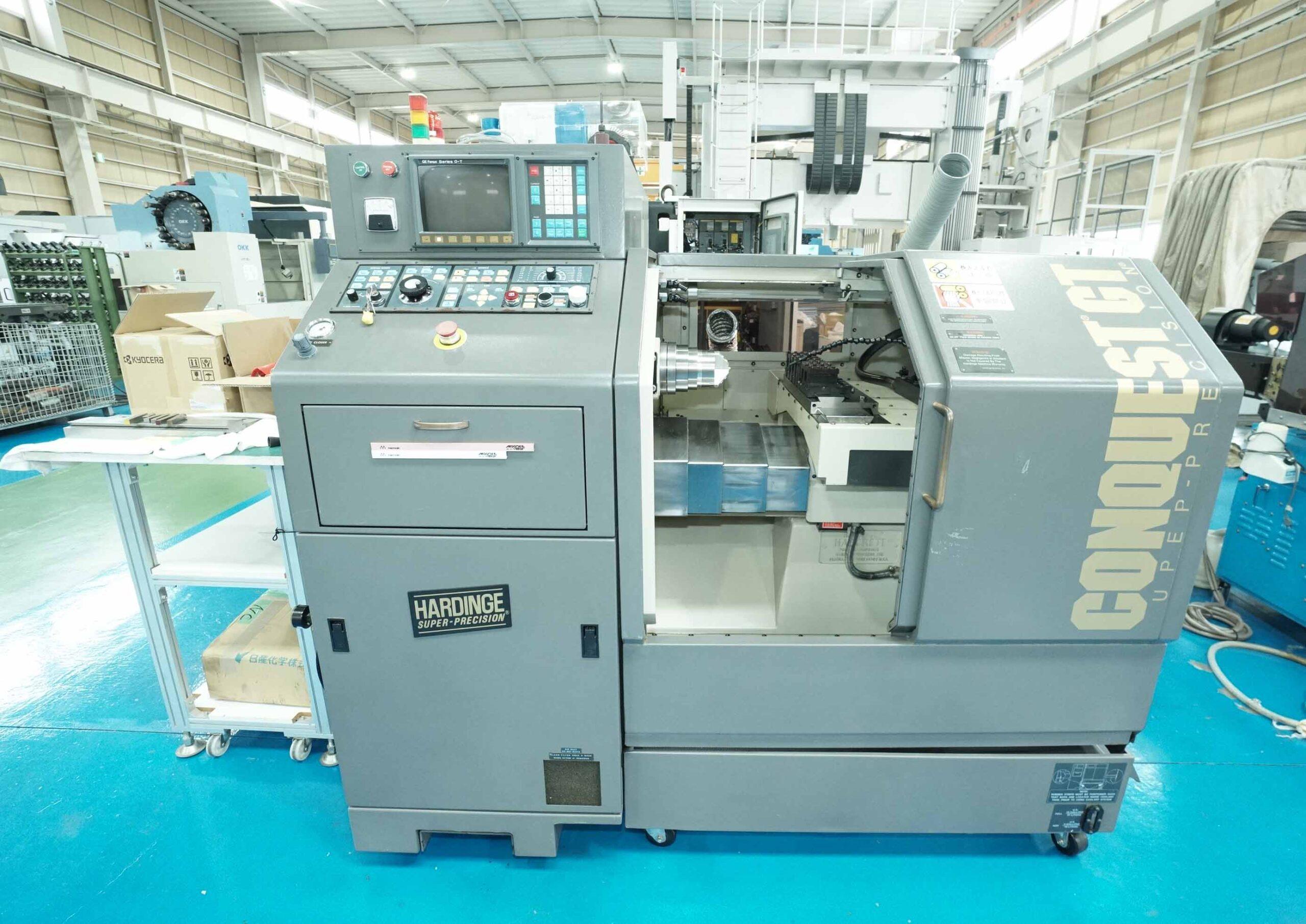 High precious GANG Tool CNC Lathe  HARDINGE  CS-GTの画像